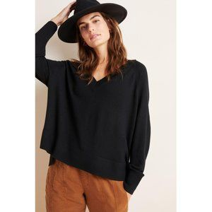 nwt anthropologie gabby v-neck merino sweater